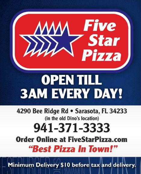 Five Star Pizza_Bee Ridge Rd_Menu4